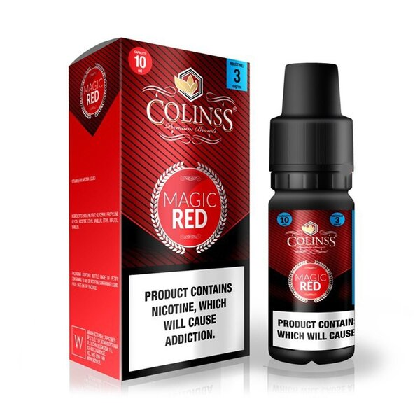 ColinsS Magic Red - Strawberry 10ml