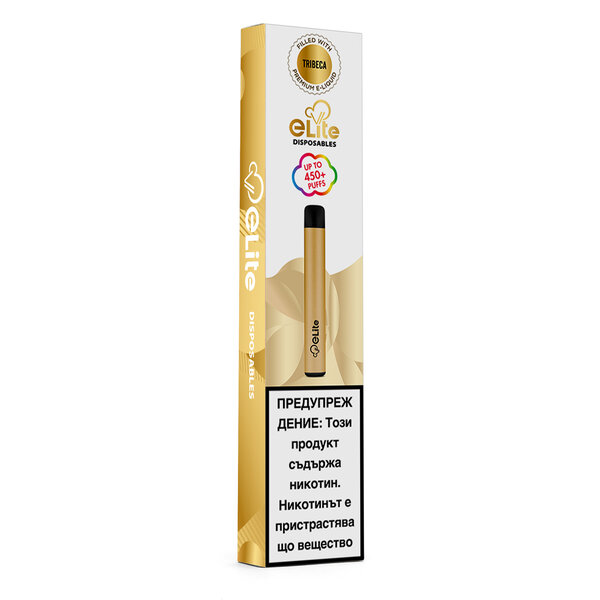 Вейп наргиле eLite Tribeca Tobacco 2ml/20mg