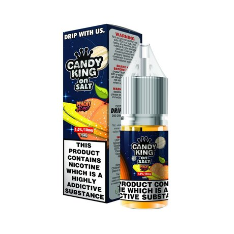 Drip More NIC SALT Peachy Rings 20mg/10ml