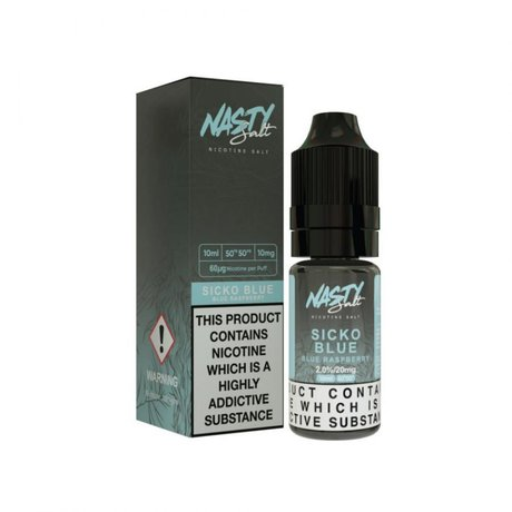 Nasty Juice NIC SALT Sicko Blue 20mg/10ml