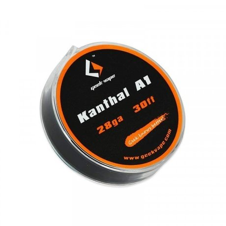 Geek Vape Atomizer DIY Kanthal A1 Tape Wire 10m (28ga)