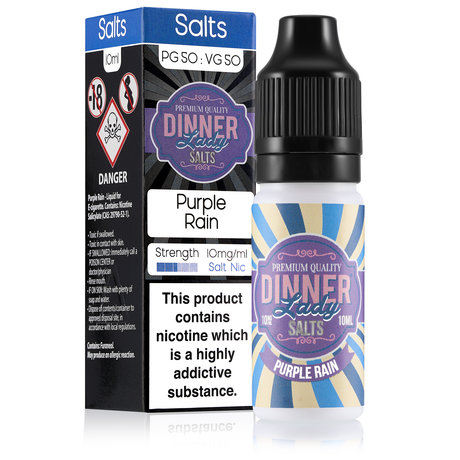Dinner Lady NICOTINE SALT Purple Rain 20mg/10ml