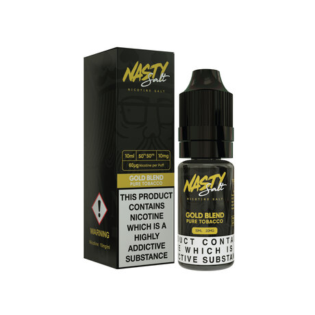 Nasty Juice NIC SALT Gold Blend 20mg/10ml