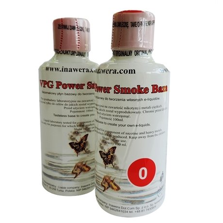 Базов разтвор Inawera VPG Power Smoke 100ml 0mg