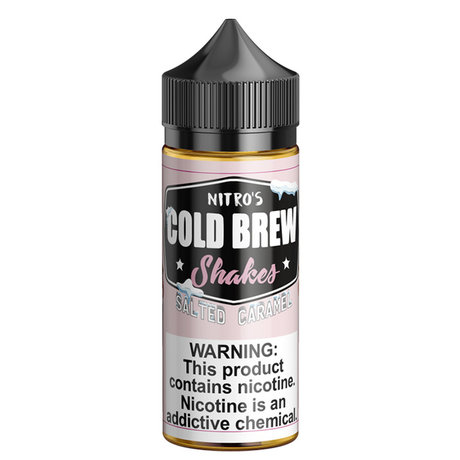 Nitros Cold Brew SALTED CARAMEL 100ml