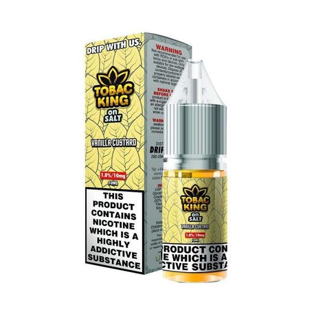 Drip More NIC SALT VANILLA CUSTARD 20mg/10ml