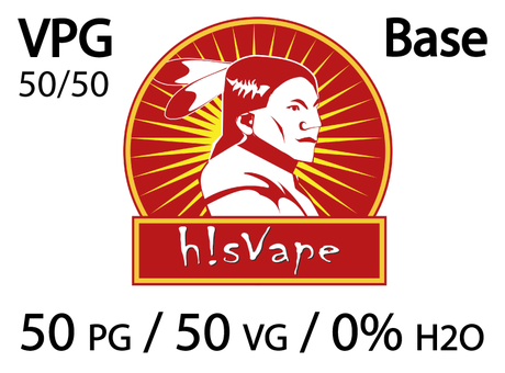 БАЗА hisVape VPG POWER 50/50% 18 mg (10 x 10 ml)